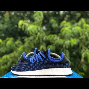 """Adidas Deerupt Runner """"Hi-Res Blue"""" Size 10.5"""